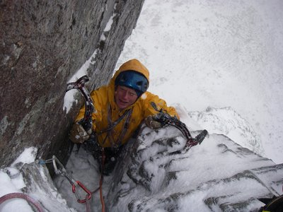 Route One - Carn Dearg Buttress