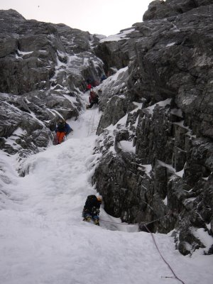 Point Five Gully 1st Pitch