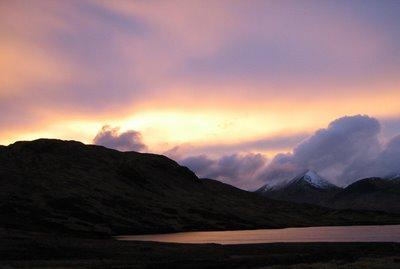 Western Skies at sundown